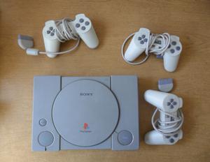 PlayStation 1 en perfecto estado con 40 juegos