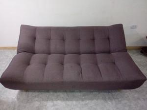 Sofa cama 3 cuerpos dos posiciones