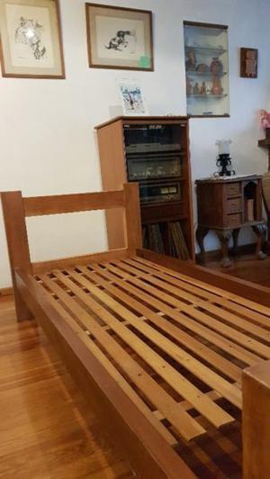 cama de 1 plaza con colchon