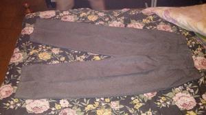 pantalon para colegio gris algodon
