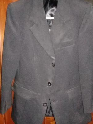 Vendo saco negro de vestir para hombre
