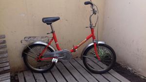 Bicicleta Plegable Rodado 16 Excelente Andar Y Plegado