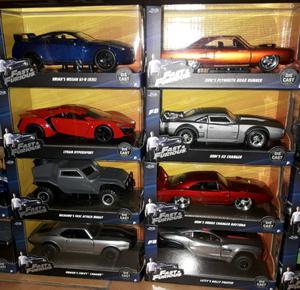 Gran chance autos rapido y furioso de coleccion