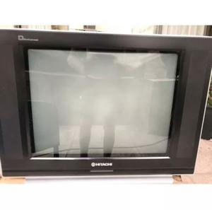 """Tv Hitachi Ultra Slim 21"""" a reparar o repuesto con control"""