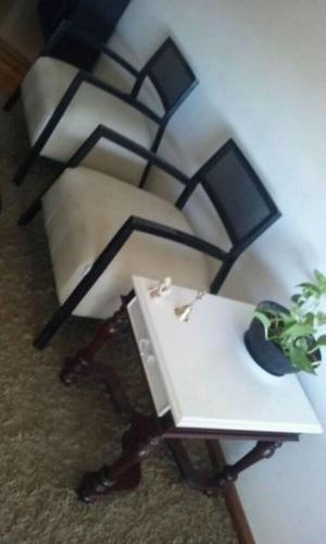 vendo 2 regios sillones de moderno diseño