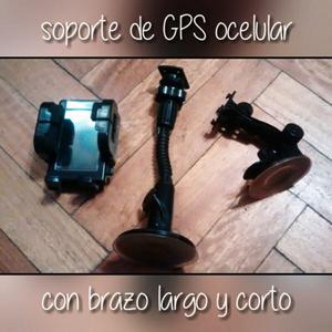 Soporte sin uso para GPS o celular con sopapa