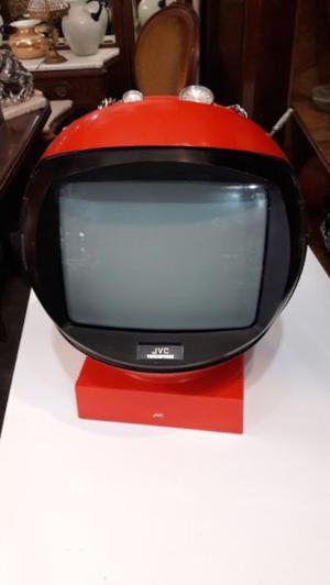 Televisor Jvc Videosphere Blanco Y Negro De Colección #