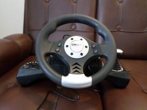 Volante con palanca y pedal Gamer Onset