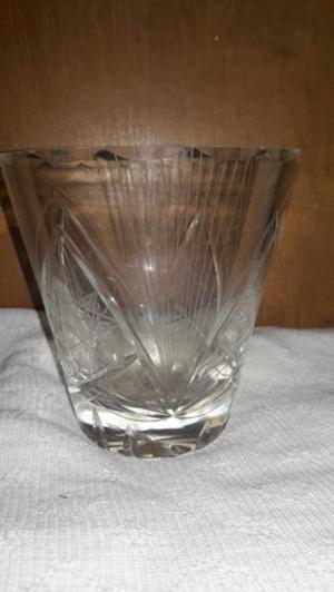 Hielera cristal tallada