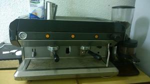 Maquina Cafe Express 2 Bocas - Profesional