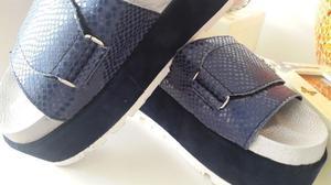 Vendo sandalia con plataforma