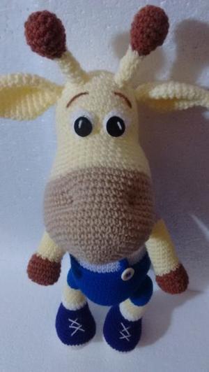 Amigurumi | como hacer una jirafa en crochet | Bibi Crochet - YouTube | 532x300