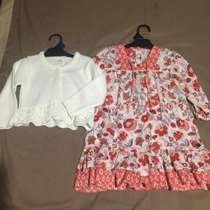 Conjunto Vestido Y Saquito Mini Mimo