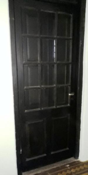 Puertas de madera antiguas muy altas hoja posot class - Puertas usadas de madera ...