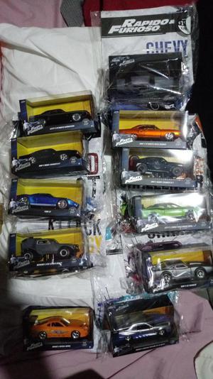 Rapido Y Furioso Coleccion 11 Autos