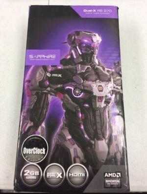 Placa De Video Sapphire Radeon Rx 2gb Dual-x
