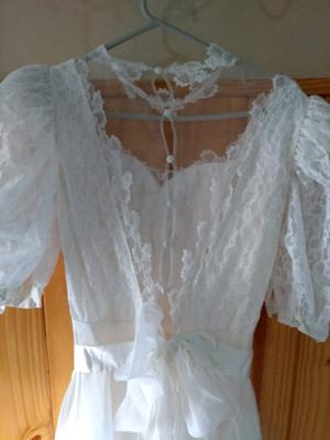 Vestido de novia usado en muy buen estado
