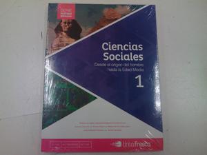CIENCIAS SOCIALES 1. SERIE NUEVAS MIRADAS. EDITORIAL TINTA