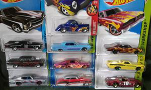 Hot wheels x 10 clásicos