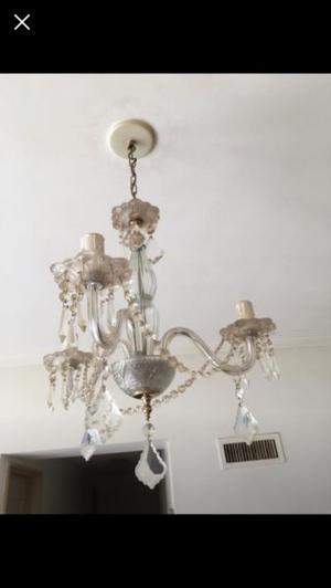 Lámpara colgante vidrio cristal