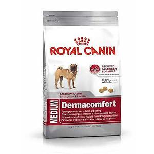 ROYAL CANIN MEDIUM DERMACONFORT X 15KG A CUADRAS CPC V.