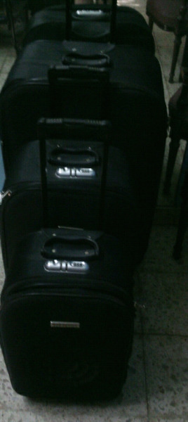 Set de 3 valijas carro nuevas sin uso