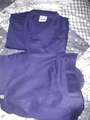 pantalon y camisa de trabajo Ombu nuevos
