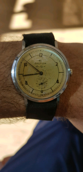 Reloj antiguo Election De luxe funcionando!