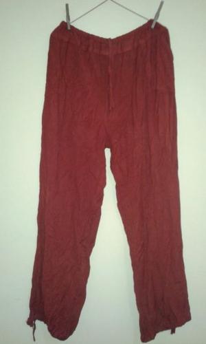 Pantalón marroquí tipo babucha, talle grande. color