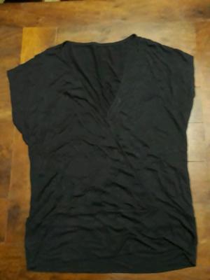 Remera de algodón y modal talle M L