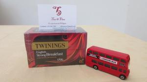 Set de lujo de Te Twinings, Taza De Porcelana Fina y Tea