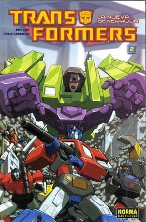 Transformers, la nueva generación Nº 2, Editorial Norma.