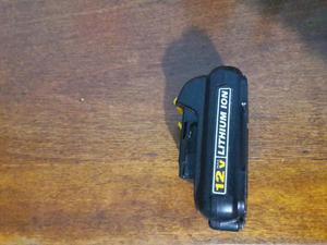 bateria dewalt 12v ion