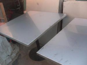 mesa de acero inoxidable, industrial,elaboracion