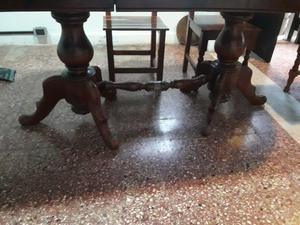 Mesa con sillas cedro