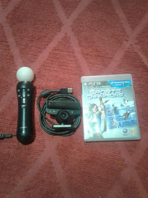 Vendo kit move ps3