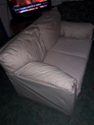 Vendo sillon 2 cuerpos eco cuero en buen estado