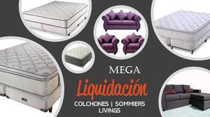 MEGA LIQUIDACIÓN A UN SOLO CLICK | COLCHONES, SOMMIERS Y