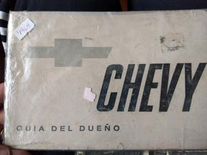 Manual de usuario original de Chevy