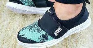 Zapatillas con abrojo