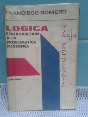 logica e introduccion a la problematica filosofica de romero