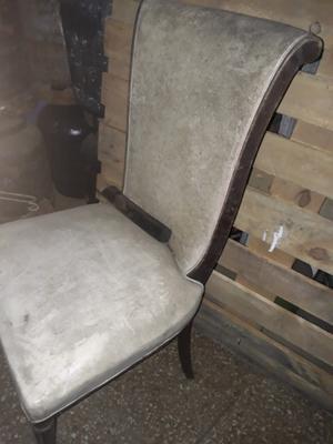 Antigua silla a restaurar
