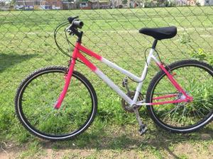 Bicicleta de mujer rodado 26 con cambios