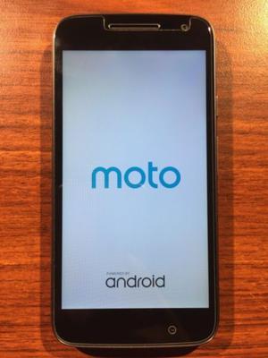 VENDO Moto G4 Play 16GB LIBRE falla pin de carga