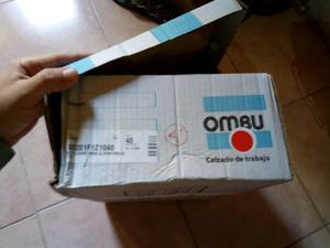 Botines de seguridad ombu