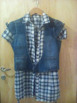 Conjunto Camisa Y Chaleco