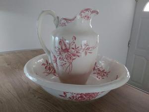 Jarra y palangana ceramica