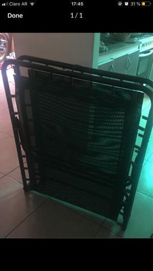 Vendo cama plegable de una plaza