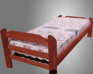 cama con colchon nuevo