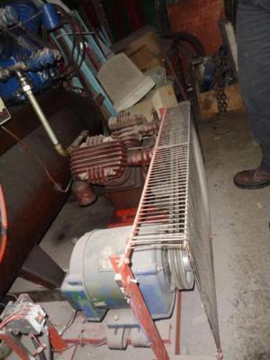 Compresor de aire 2 cabezales usado